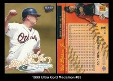 1999 Ultra Gold Medallion #83