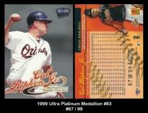 1999 Ultra Platinum Medallion #83