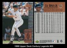 1999 Upper Deck Century Legends #55