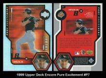 1999 Upper Deck Encore Pure Excitement #P7