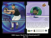 1999 Upper Deck Forte Quadruple #F7