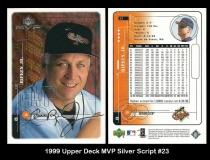 1999 Upper Deck MVP Silver Script #23