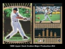1999 Upper Deck Ovation Major Production #S4