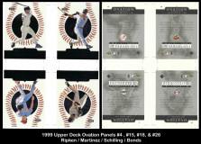 1999-Upper-Deck-Ovation-Panels-4-15-18-26