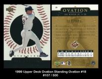 1999 Upper Deck Ovation Standing Ovation #18