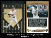 1999 Upper Deck Ovation Standing Ovation #83