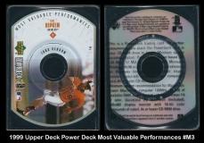 1999 Upper Deck Power Deck Most Valuable Performances #M3