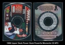 1999 Upper Deck Power Deck Powerful Moments CD #P3