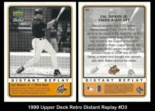 1999 Upper Deck Retro Distant Replay #D3