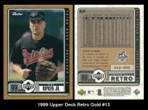 1999 Upper Deck Retro Gold #13