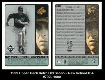 1999 Upper Deck Retro Old School New School #S4