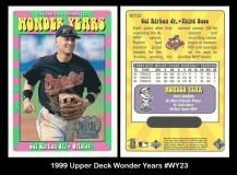 1999 Upper Deck Wonder Years #WY23