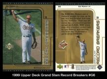 1999 Upper Deck Grand Slam Record Breakers #G6