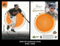 2000 SP Authentic #100