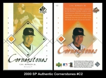 2000 SP Authentic Cornerstones #C2