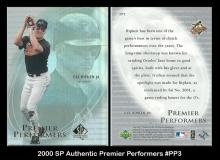 2000 SP Authentic Premier Performers #PP3