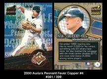 2000 Aurora Pennant Fever Copper #4
