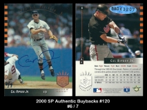 2000 SP Authentic Buybacks #120