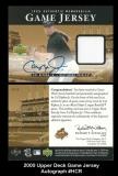 2000 Upper Deck Game Jersey Autograph #HCR