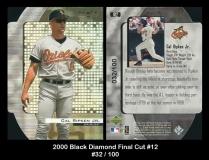 2000 Black Diamond Final Cut #12