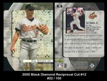 2000 Black Diamond Reciprocal Cut #12