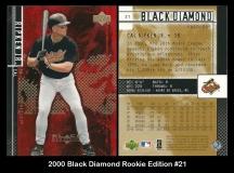2000 Black Diamond Rookie Edition #21