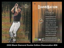 2000 Black Diamond Rookie Edition Diamonation #D8
