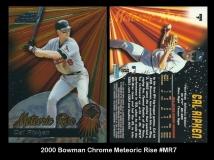 2000 Bowman Chrome Meteoric Rise #MR7