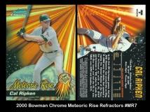2000 Bowman Chrome Meteoric Rise Refractors #MR7