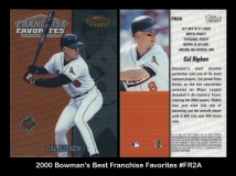 2000 Bowmans Best Franchise Favorites #FR2A