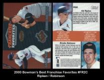 2000 Bowmans Best Franchise Favorites #FR2C
