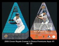 2000-Crown-Royale-Cramers-Choice-Premiums-Aqua-1