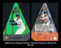2000-Crown-Royale-Cramers-Choice-Premiums-Green-1
