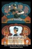 2000 Crown Royale Platinum Blue #20 Replacement Card