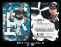 2000 E-X E-Xceptional Blue #8