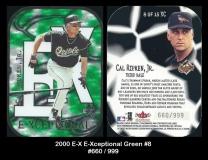2000 E-X E-Xceptional Green #8