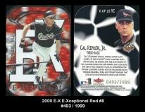 2000 E-X E-Xceptional Red #8
