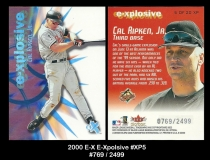 2000 E-X E-Xplosive #XP5