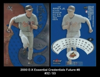 2000 E-X Essential Credentials Future #8