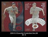2000 E-X Essential Credentials Now #8