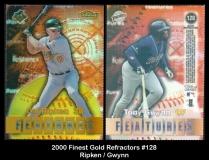 2000 Finest Gold Refractors #128