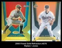 2000 Finest Gold Refractors #275