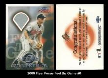 2000 Fleer Focus Feel the Game #6