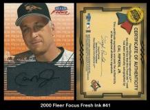 2000 Fleer Focus Fresh Ink #41