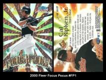 2000 Fleer Focus Pocus #FP1