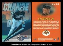 2000 Fleer Gamers Change the Game #CG2