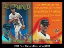 2000 Fleer Gamers Determined #D12