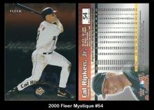 2000 Fleer Mystique #54