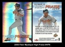 2000 Fleer Mystique High Praise #HP8
