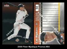 2000 Fleer Mystique Promos #54